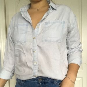 Light Blue Button Up Shirt